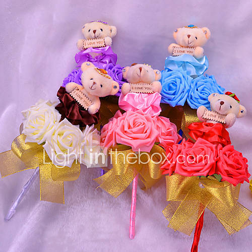 Plush Toy Doll Bouquet Teddy Bear Gifts For Christmas Wedding Gifts