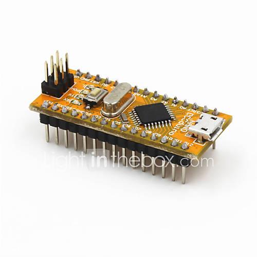 nuevo módulo v3.0 nano ATmega328P-au versión mejorada para Arduino - amarillo Descuento en Miniinthebox