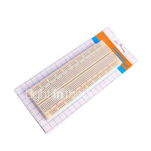 830 punto protoboard sin soldadura para pi frambuesa arduino Descuento en Miniinthebox