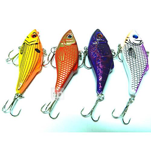 4pcs Hengjia Metal VIB Baits/Vibration  10.5g   70mm Lure Fishing