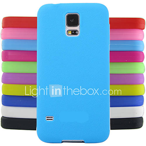 Case For Samsung Galaxy Samsung Galaxy Case Back Cover Solid Color Silicone for S4 Mini