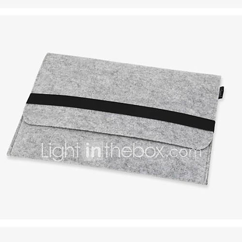 11,13,15 lana pulgadas sintió caja del filtro de la manga del ordenador portátil del cuaderno interno para el aire del macbook / pro / Miniinthebox por 7.83€