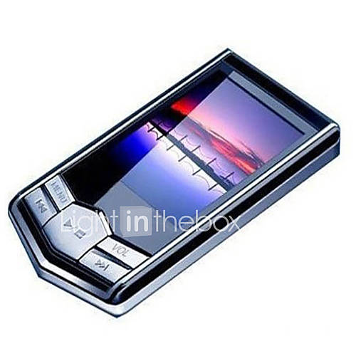 "Portable 8GB 4G Slim Mp3 Mp4 Player With 1.8"" LCD Screen FM Radio Video Games Movie"