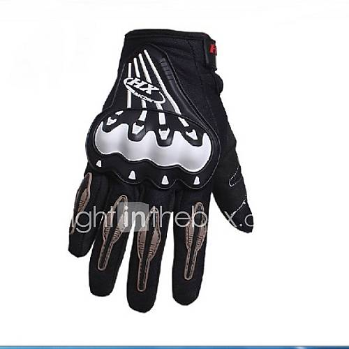 High Quality Breathable Durable Non-Slip Motorbike Motocross Motorcycle/Bicycle/Bike/Racing Gloves M/L/XL Black/Red/Blue