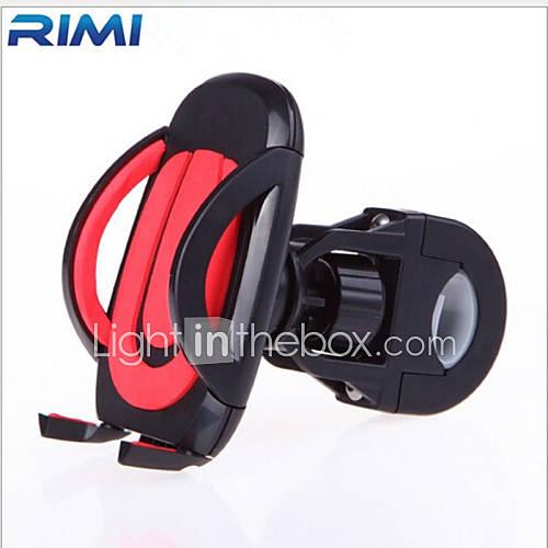 Phone Holder Stand Mount Car / Bike / Motorcycle Handlebar Adjustable Stand Plastic for Mobile Phone