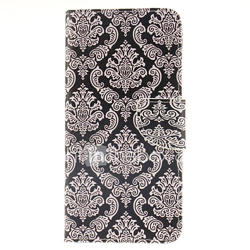 For Samsung Galaxy Note Wallet / Card Holder / with Stand / Flip Case Full Body Case Flower PU Leather Samsung Note 5