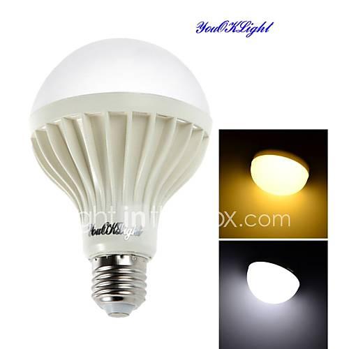 YouOKLight 1PCS E27 12W 18SMD5630 900LM 3000K/6000 Warm White/Cool White Light  LED Globe Bulbs (AC 220V)