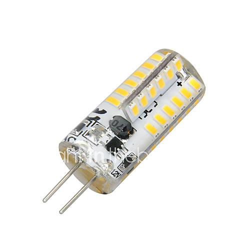 2W 100-200 lm G4 LED Corn Lights T 48 leds SMD 3014 Warm White AC 12V