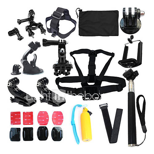 Accessories For GoProProtective Case Monopod Tripod Case/Bags Screw Buoy Suction Cup Straps All in One Convenient For-Action Camera