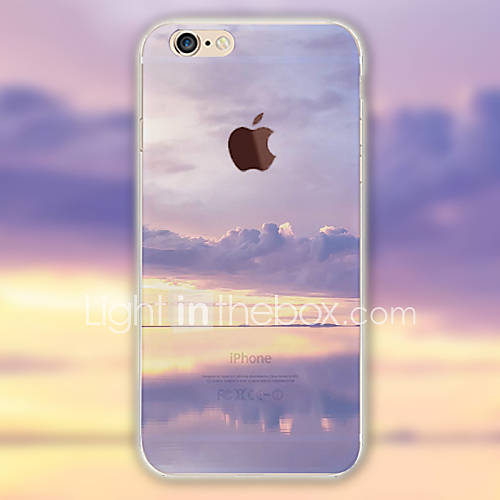 For iPhone 6 Case iPhone 6 Plus Case Pattern Case Back Cover Case Scenery Soft TPU for iPhone 6s Plus iPhone 6 Plus iPhone 6s iPhone 6