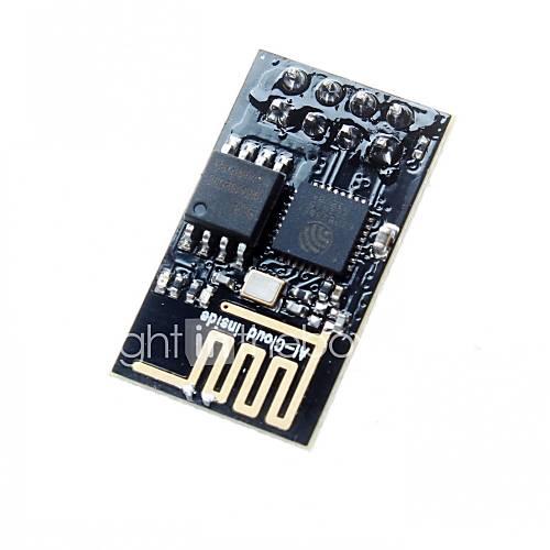 versión mejorada esp-01 esp8266 wifi serie módulo inalámbrico transceptor inalámbrico para Arduino / pi frambuesa Descuento en Miniinthebox