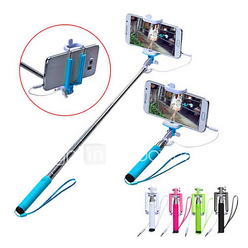vormor extensible manipulé bâton avec un obturateur intégré à distance conçu pour Apple, les smartphones Android