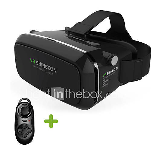 "VR BOX Shinecon Virtual Reality 3D Glasses BT Control for 3.5""-6"" Phone"