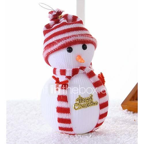Christmas Snowman Christmas Tree Scene Decoration Supplies The Doll