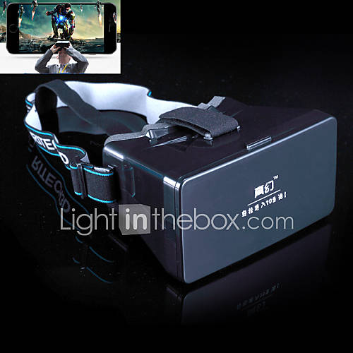 "Universal Google Virtual Reality 3D Video Glasses for 3.5~5.6"" Smartphones"