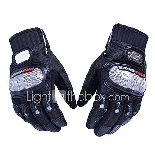 PRO-BIKER MCS-01A Skid-Proof Full Finger Motorcycle Racing Gloves