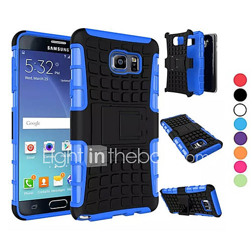 Case For Samsung Galaxy Samsung Galaxy Note Shockproof Back Cover Armor PC for Note 5 Edge Note 5 Note 4 Note 3