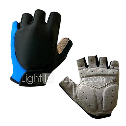 Sports Gloves Bike Gloves / Cycling Gloves Wearable / Breathable / Wearproof Fingerless Gloves Silicone / Synthetic Leather / Lycra