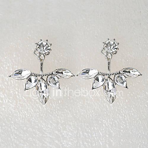 Pendientes cortos Cristal Brillante La imitación de diamante Legierung Forma de Flor Plata Dorado Joyas Fiesta Diario Casual 2 piezas Miniinthebox por 1.95€