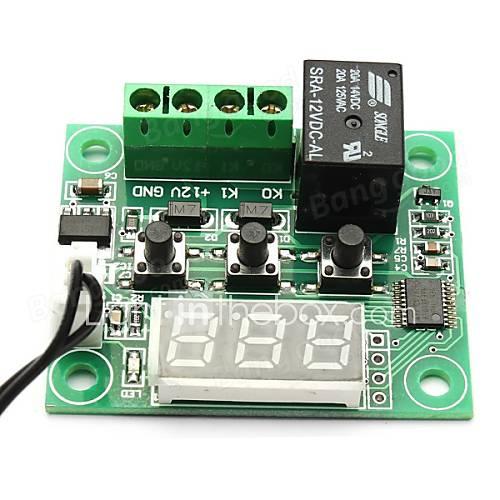 w1209 dc 12v -50 a 110 temperatura del termómetro del termostato interruptor de control Descuento en Miniinthebox