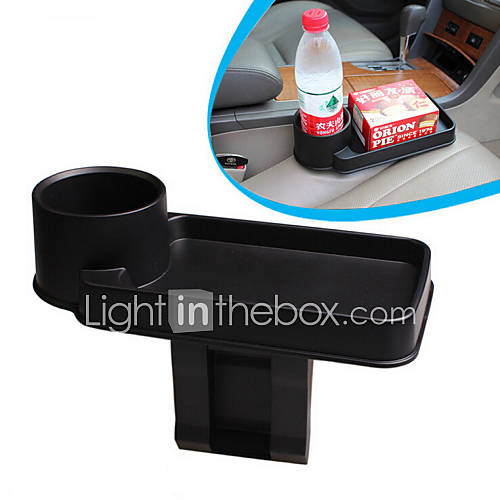 New Black Universal Vehicle Car Truck Drink Bottle Cup Phone Holder Car Multi-Function Rack Car Accessories