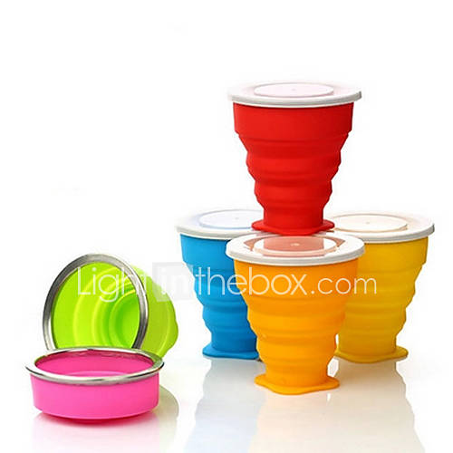 Travel Travel Bottle  Cup / Travel Toothbrush Container/Protector Travel Drink  Eat Ware Waterproof Silica Gel