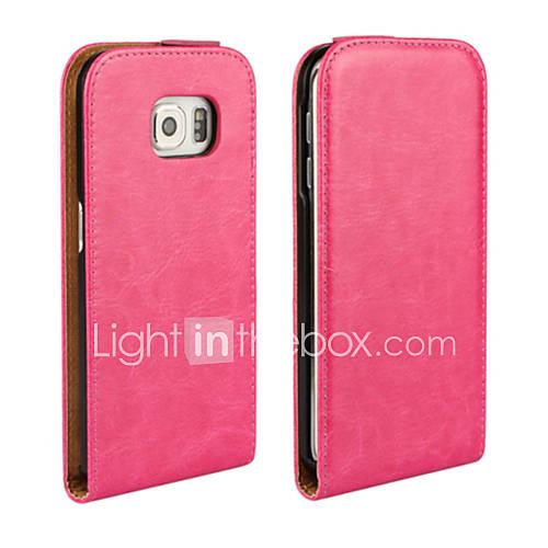 Case For Samsung Galaxy Samsung Galaxy Case Full Body Cases Solid Color PU Leather for S6 edge S6 S5 Mini S5 S4 Mini S4 S3 Mini S3 S