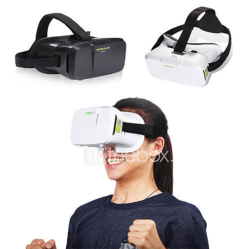 "BOBO VR 3D Box VR Glasses Xiaozhai II Virtual Reality VR Head Mount VR 3D Glasses VR for 4""~6"" Smartphone"