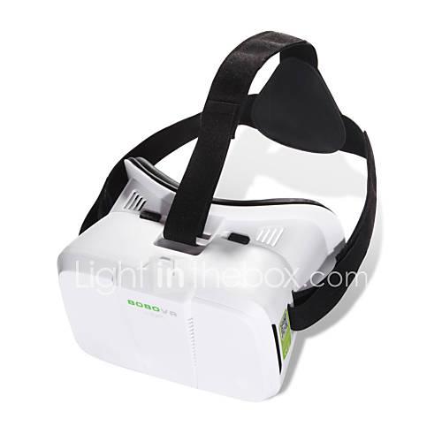 "BOBO VR 3D Box VR Glasses Xiaozhai II Virtual Reality VR Head Mount VR 3D Glasses VR for 4""~6"" Smartphone"