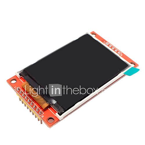 Spi 2.2 pulgadas 240 x 320 módulo de color TFT LCD compatible 5110 4 io para Arduino Descuento en Miniinthebox
