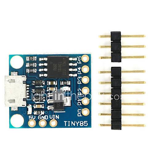 digispark interfaz micro usb pedal de arranque placa de desarrollo ATtiny85 Descuento en Miniinthebox