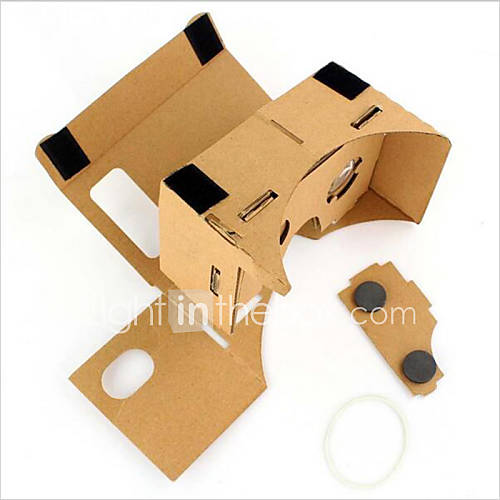 Cardboard VR Virtual Reality Glasses Storm Mirror DIY Kit  Unisex VR Glasses