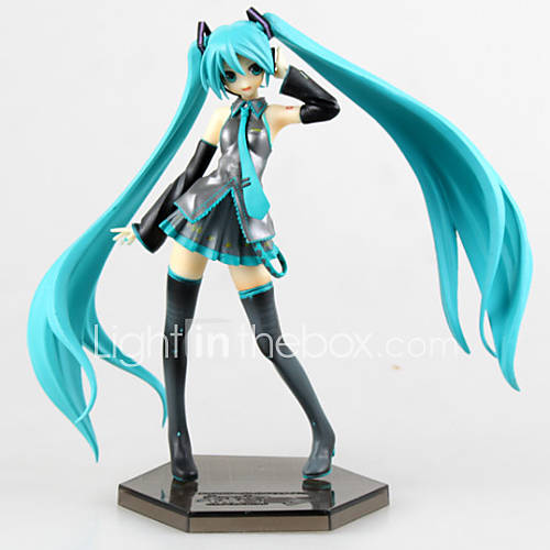 Anime Action Figures Inspired by Vocaloid Hatsune Miku PVC 19 CM Model Toys Doll Toy