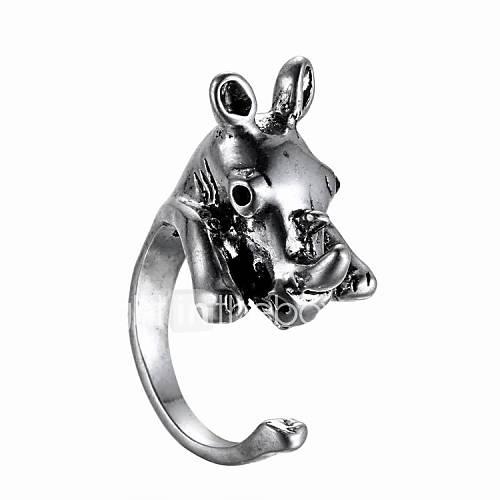 Animal Fashion Stereo Ring