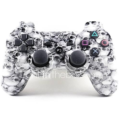 palanca de mando sin hilos del bluetooth sixaxis dualshock3 gamepad controlador recargable para Sony PS3 Descuento en Miniinthebox