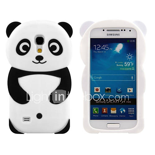 Case For Samsung Galaxy Samsung Galaxy Case Pattern Back Cover 3D Cartoon Silicone for S4 Mini S3 Mini
