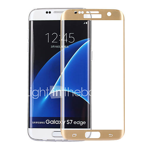ASLING 0.2mm 3D Full Cover Arc Explosion-proof Tempered Glass Screen Protector for Samsung S7 Edge