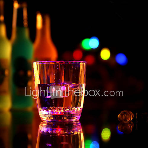 The New Light Brick Water Induction Water Cube Cup Into The Water That Bright luminous Cup