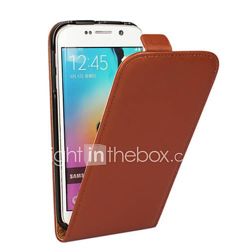 Case For Samsung Galaxy Samsung Galaxy Case Flip Full Body Cases Solid Color PU Leather for S5 Mini S4 Mini S3 Mini