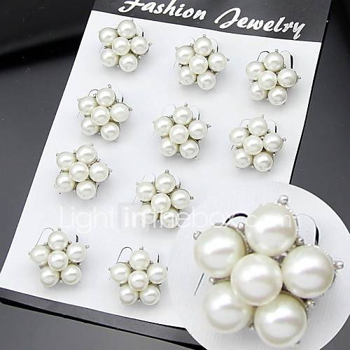 Women's Brooches Party Work Fashion Cubic Zirconia Alloy White Jewelry For Wedding Party Special Occasion Anniversary Birthday Gift Daily