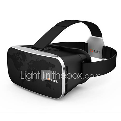 VR PARK-V3Virtual Reality 3D Video Glasses Headset - BLACK