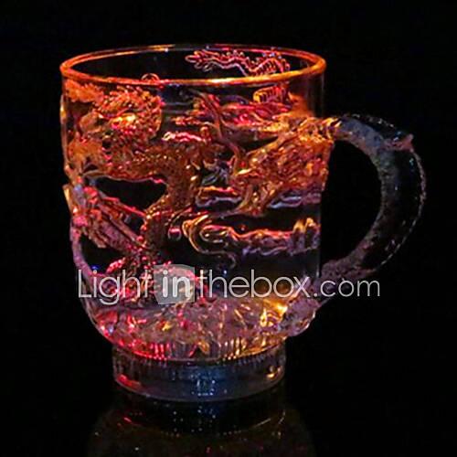 Novel Glass / Cup / Glass / Tea Drink 1PCS Plastic Colorful