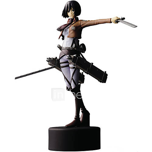 Attack on Titan 14CM Mikasa·Ackerman Doll Toys Model Anime Action Figures