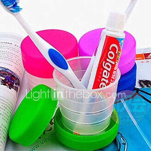 Travel Travel Bottle  Cup / Inflated Mat Toiletries Foldable Plastic