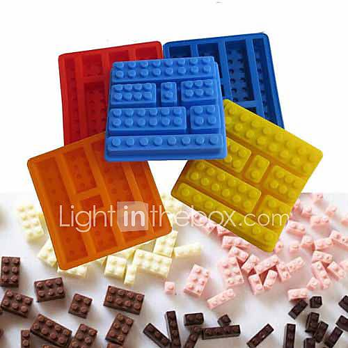 Lego Brick Style Square Sharped ...