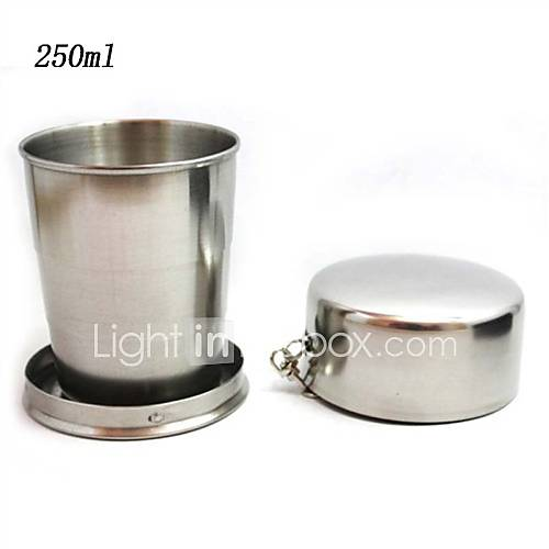 Travel Travel Bottle  Cup Toiletries Foldable Stainless Steel