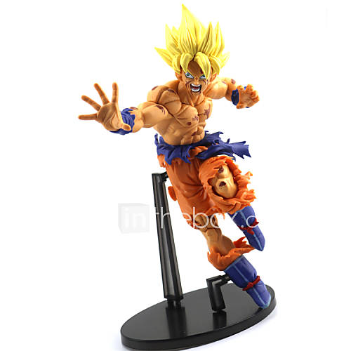22CM Dragon Ball Z Cultures BIG Resurrection Of F Styling God Super Saiyan Son Goku Bardock