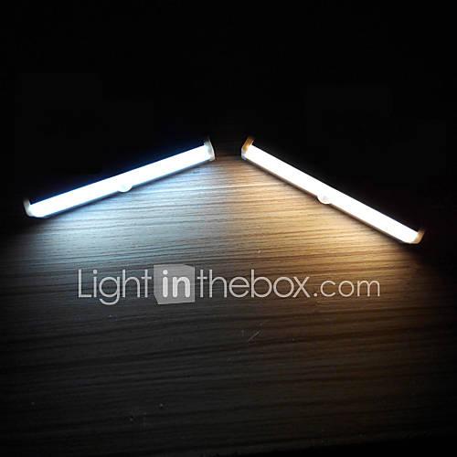 YouOKLight 1 pc LED Night Light Warm White Cold White Battery Sensor