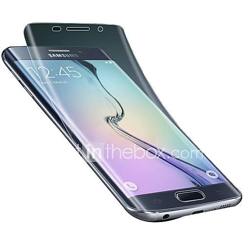 para el borde más el protector de pantalla de alta calidad de alta definición material de la pantalla suave protector de borde s6 Samsung Galaxy s6