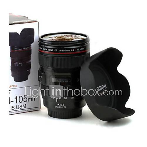 Creative lens Gift Cup Sixth Generation of Canon lens Cup Valentine's Day Gifts
